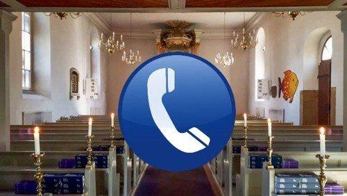 GOTTESDIENST AM TELEFON oder im Freien vor der Dorfkirche Lübars