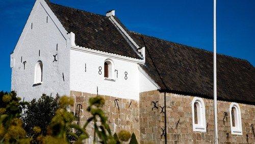 Pinsegudstjeneste i Hjortdal Kirke