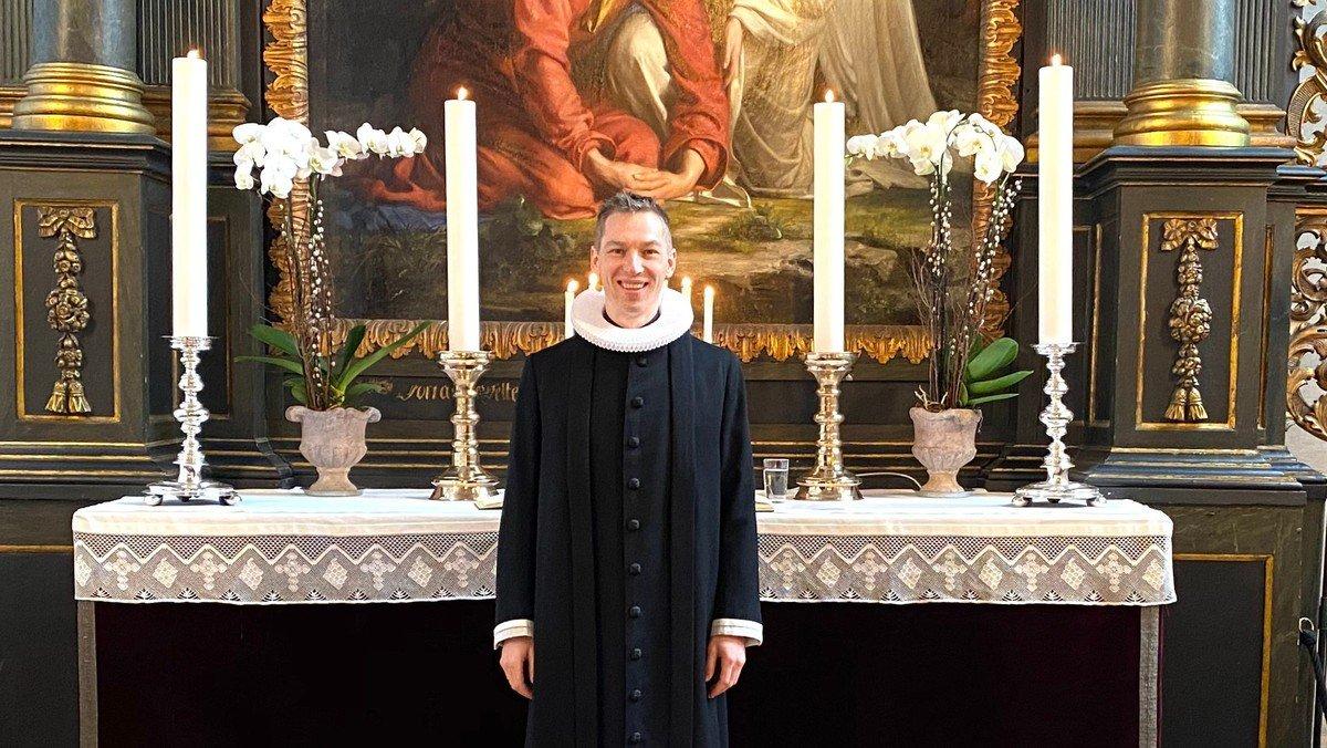 Gudstjeneste v. Christian P. Medom