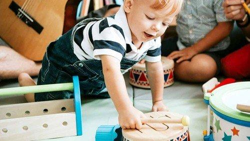 Børnerytmik online 1-3 år