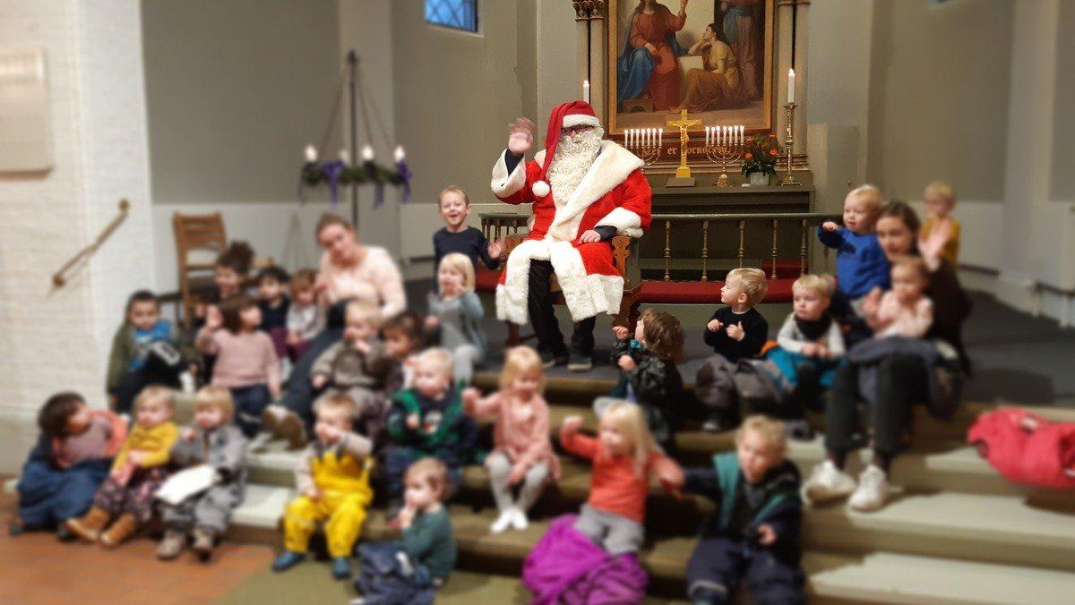 Jul for børn-gudstjeneste