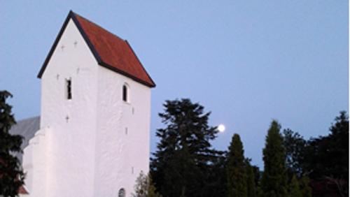 Gudstjeneste i Øster Alling Kirke