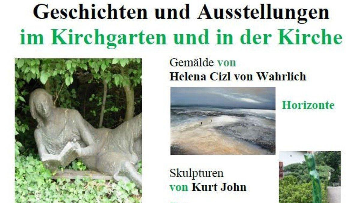 Geschichten und Ausstellung im Kirchgarten