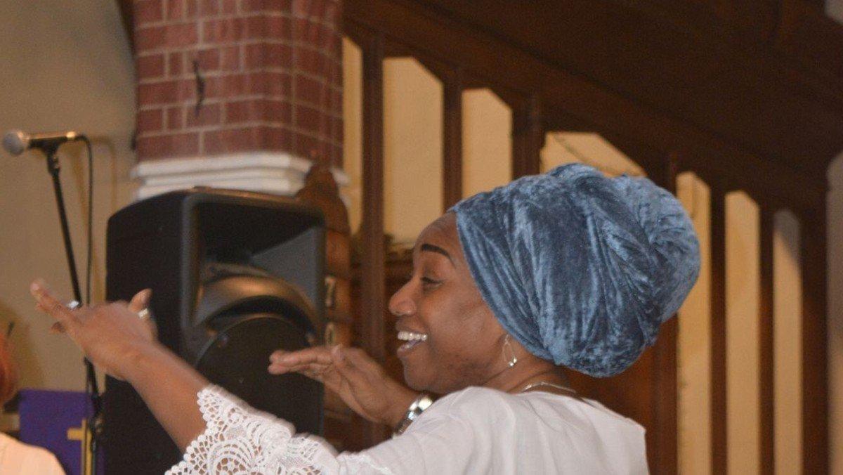 St Michaels Community Gospel Choir rehearsal