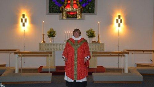 2. pinsedag gudstjeneste ved Birgitte L. Leisner