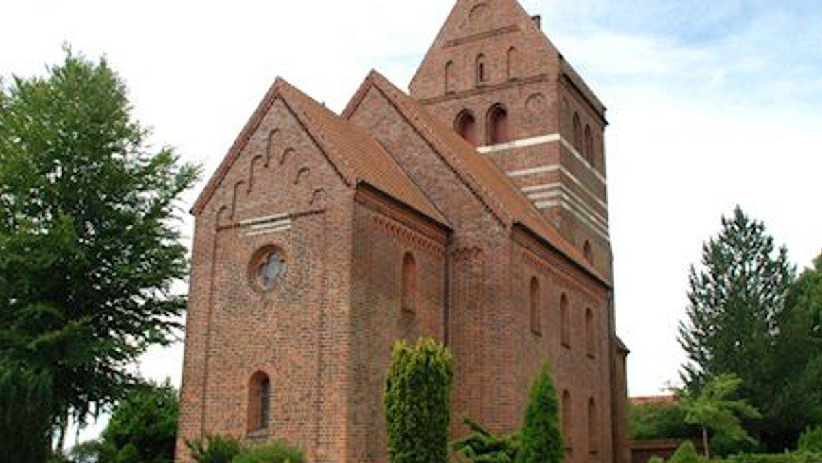 Gudstjeneste i Ledøje kirke -