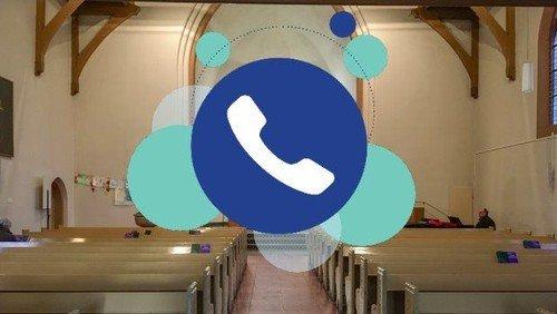 """""""Hybrid""""-Gottesdienst (Präsenz/Zoom/Telefon) in Waidmannslust"""
