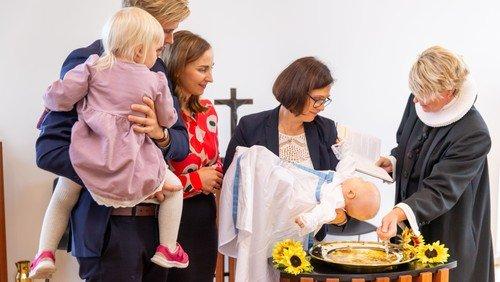 Drop in-dåb på Kirkeskibet