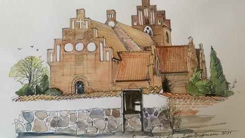 Højmesse i Sværdborg og dåb
