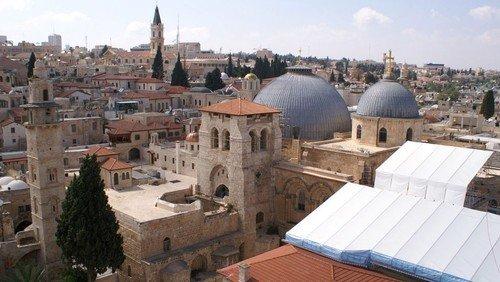 Das Heilige Land: eine neue Reise nach Jordanien, Palästina und Israel
