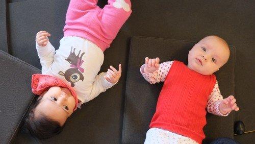 Babysalmesang i Frederiksholm kirke - to hold