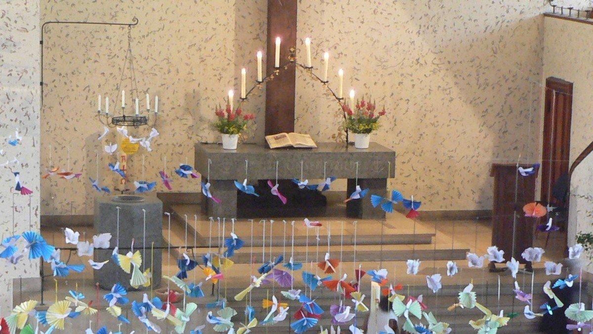 Gemeinsamer Gottesdienst der Kirchengemeinden Frohnau und Hermsdorf