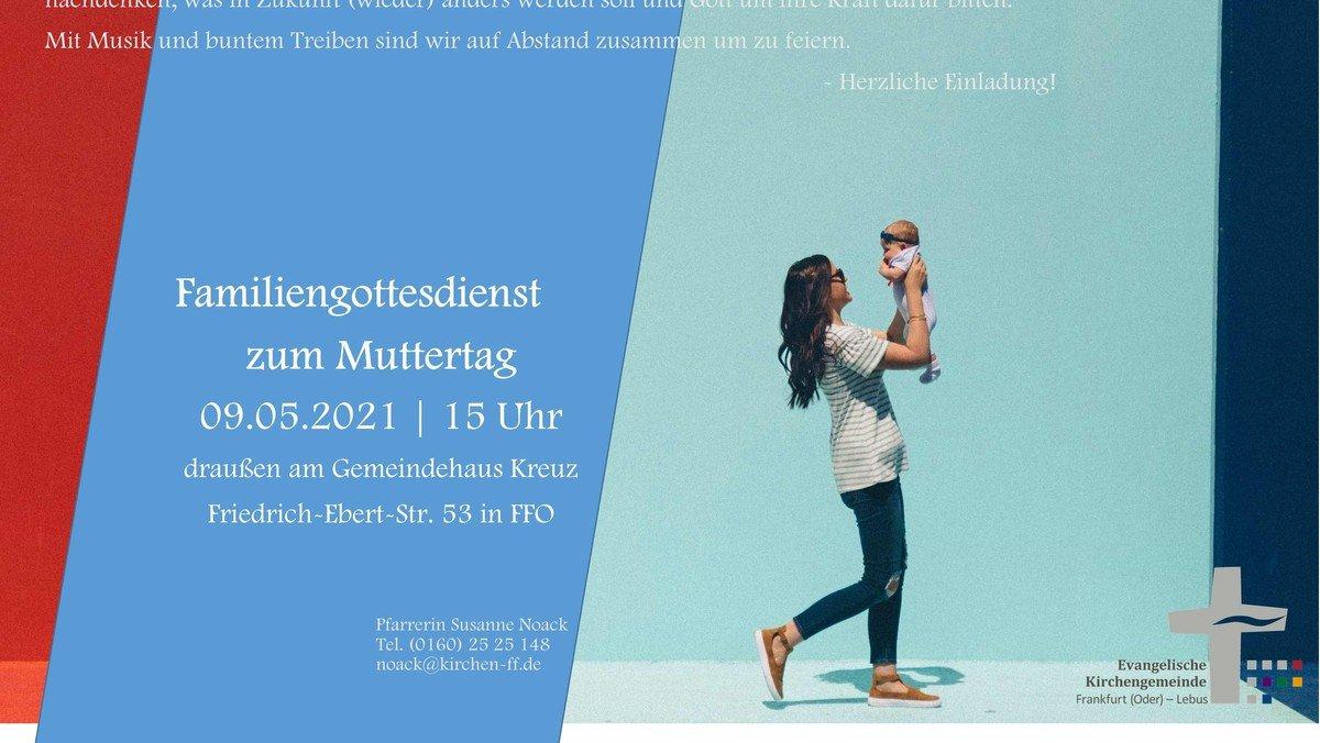 Familiengottesdienst zum Muttertag