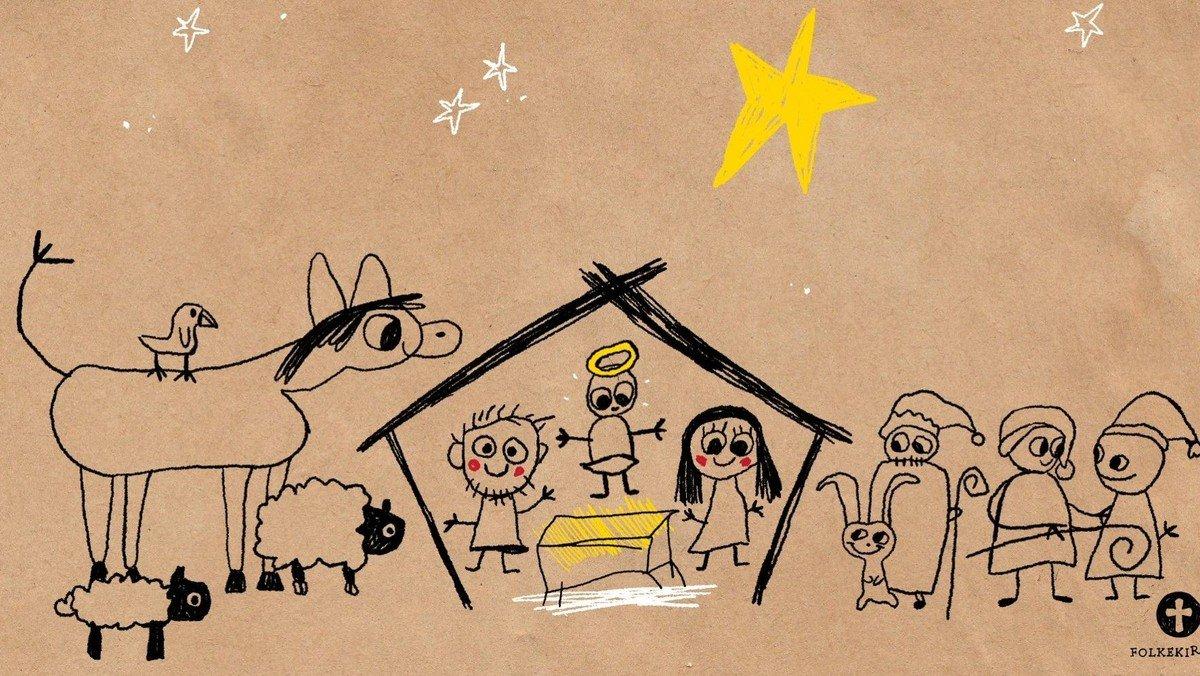 Jule-familiegudstjeneste Nørre Tranders