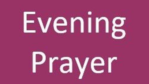 Evening Prayer (Live Stream)