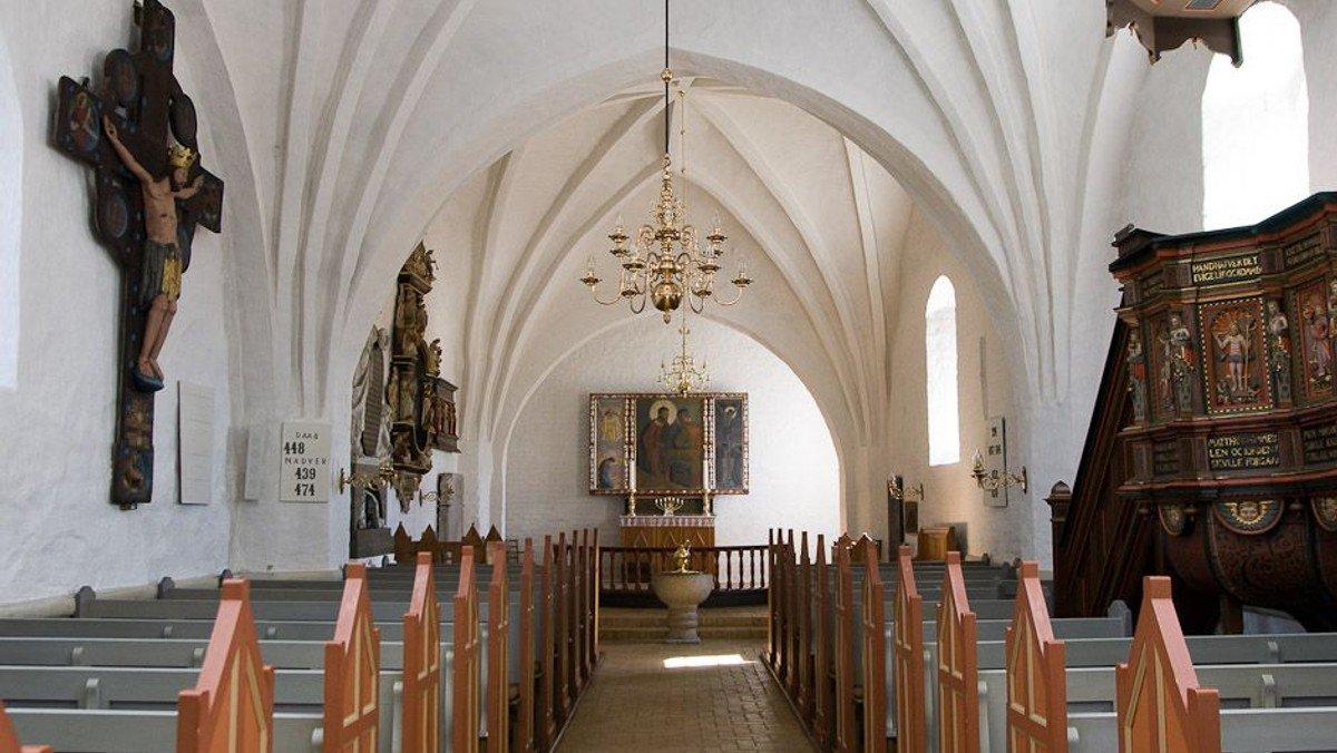 Nadvergudstjeneste i Vrensted kirke