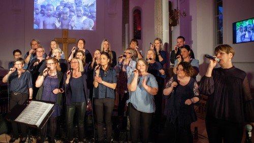 Syng-sammen-aften i Brønderslev kirke