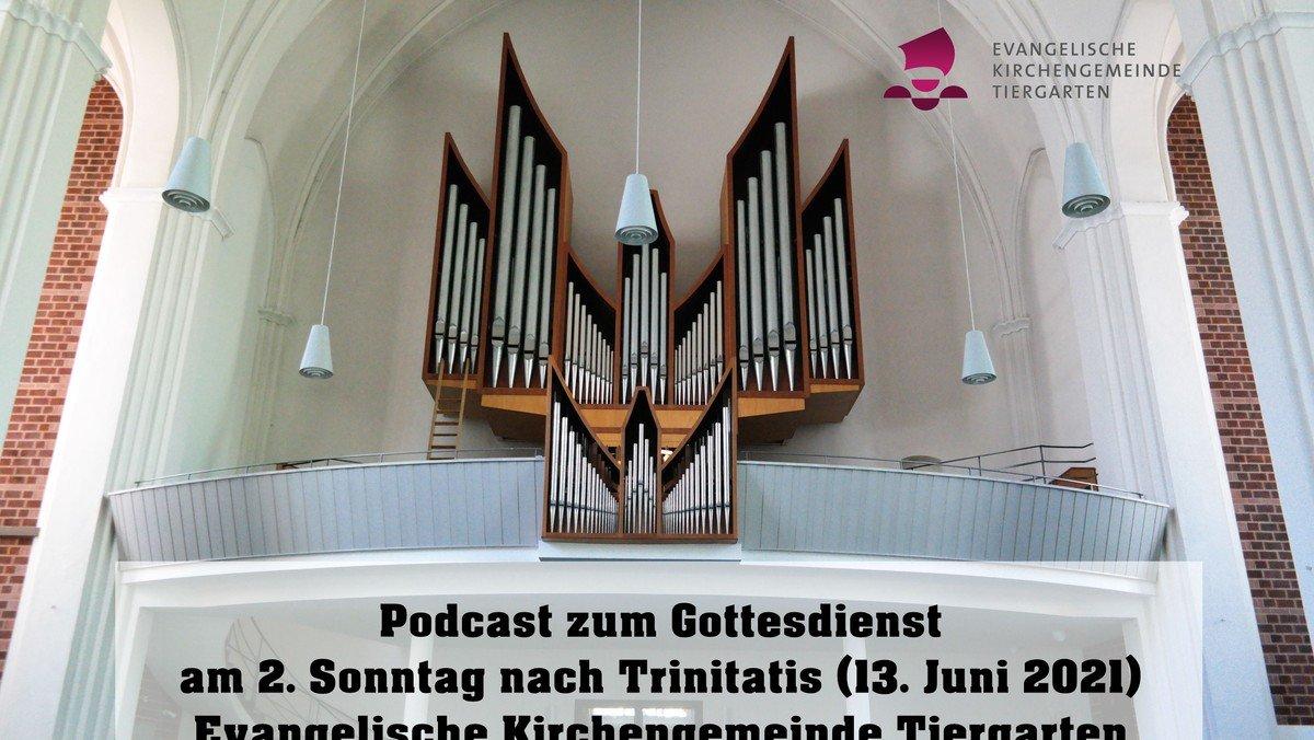 Podcast zum Gottessdienst zum 2. Sonntag nach Trinitatis