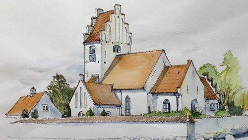 Dåbsgudstjeneste i Lundby