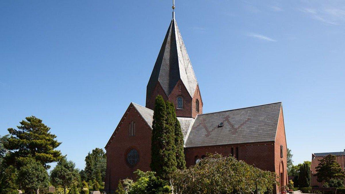 Generalprøve for konfirmander i Hadsund (7.A)