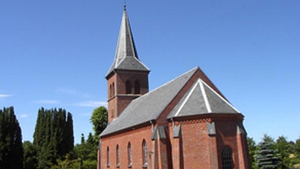 Gudstjeneste og dåb i Brande kirke v/AEH