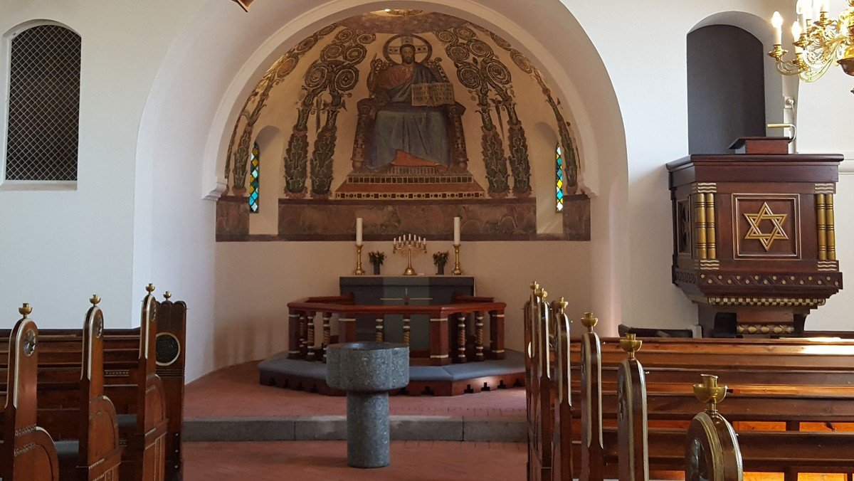 Dåbssgudstjeneste i Svingelbjerg Kirke