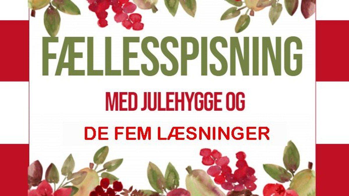 Decemberhygge og De fem læsninger ved Pernille Vinge Karlsson