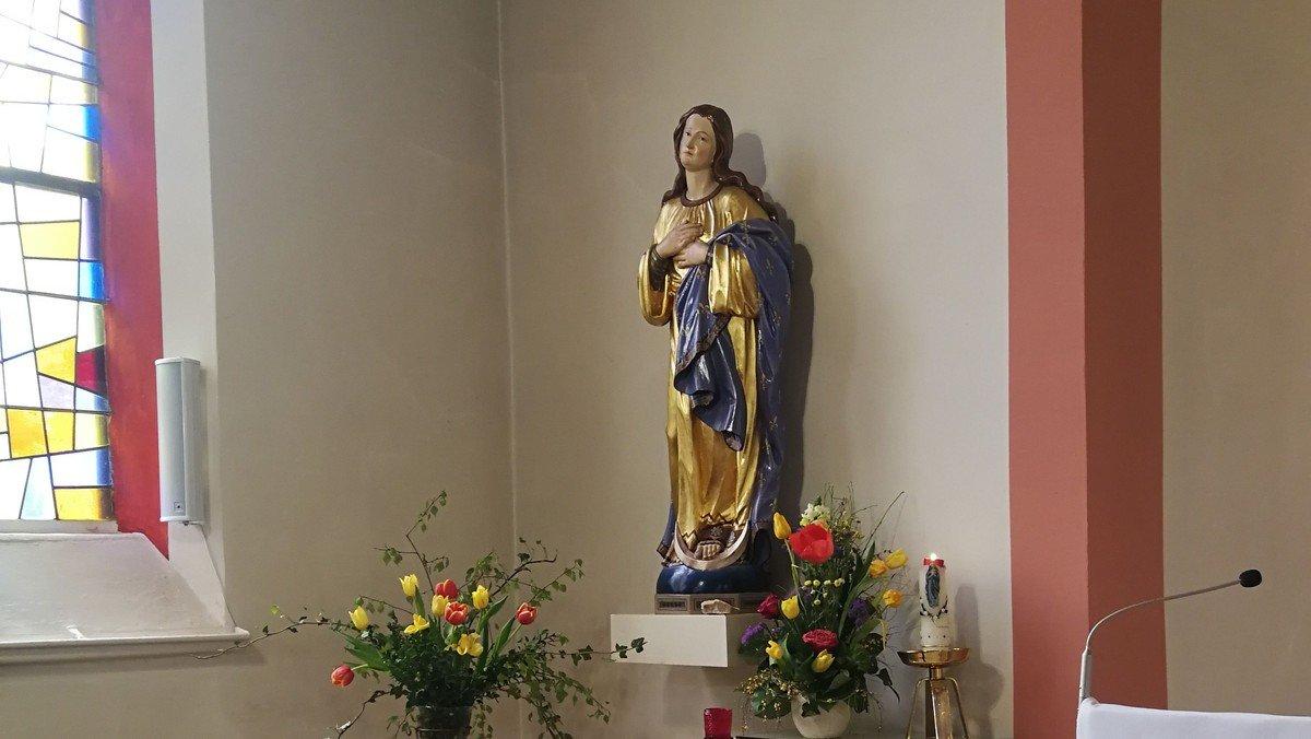 Mai-Andacht in Herz Jesu, Wolgast