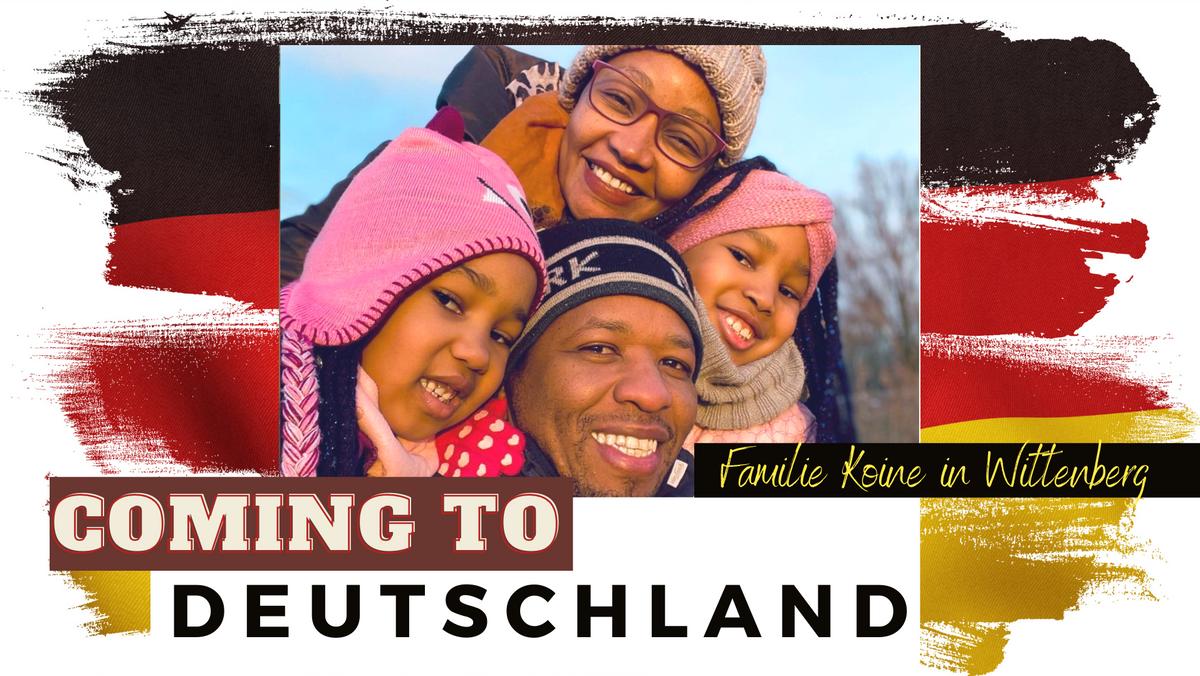 Coming to DEUTSCHLAND - Frank Koine, ein Kenianer in Wittenberg, teilt seine Erfahrungen