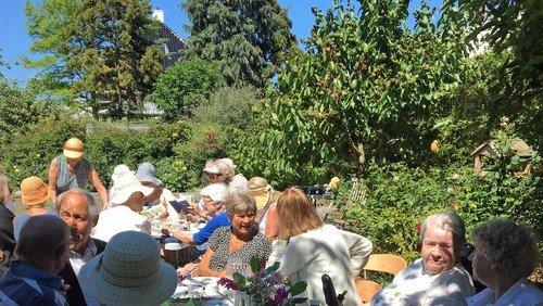Sommerfrokost i det grønne
