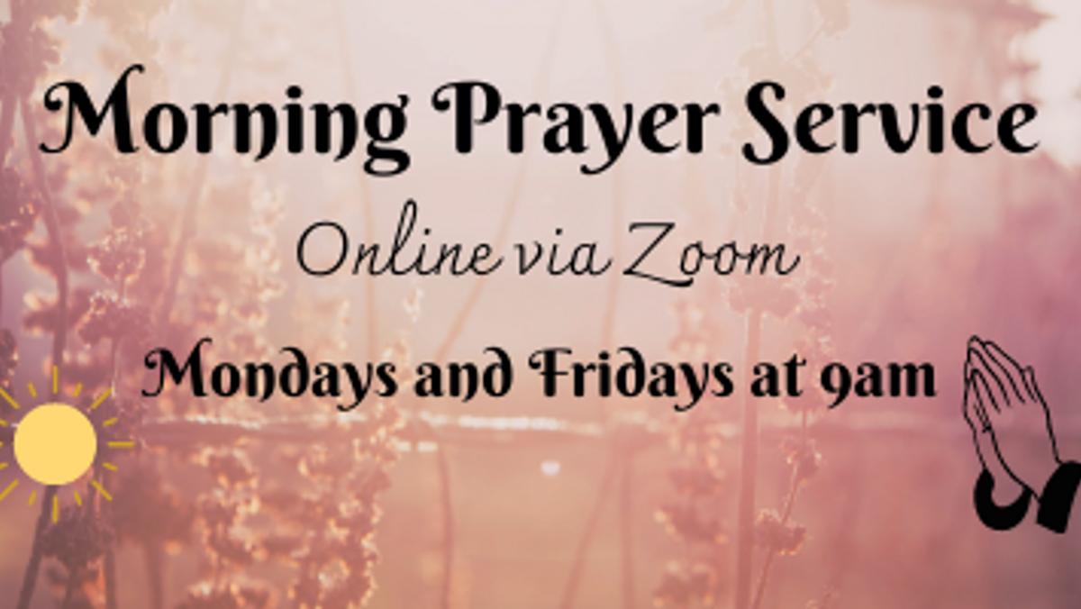 Virtual Morning Prayer Service