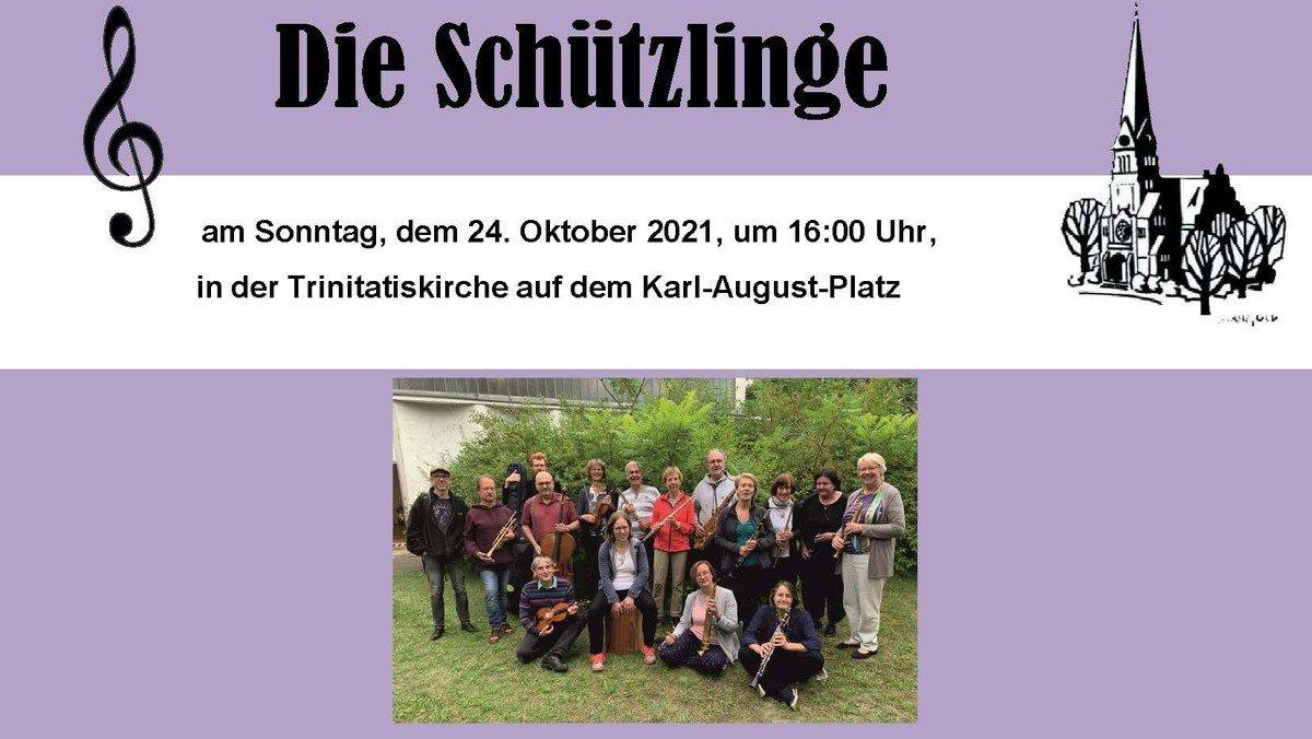 Konzert mit den Schützlingen - Gespielt wird u.a. Ragtime, Klezmer, Beatles