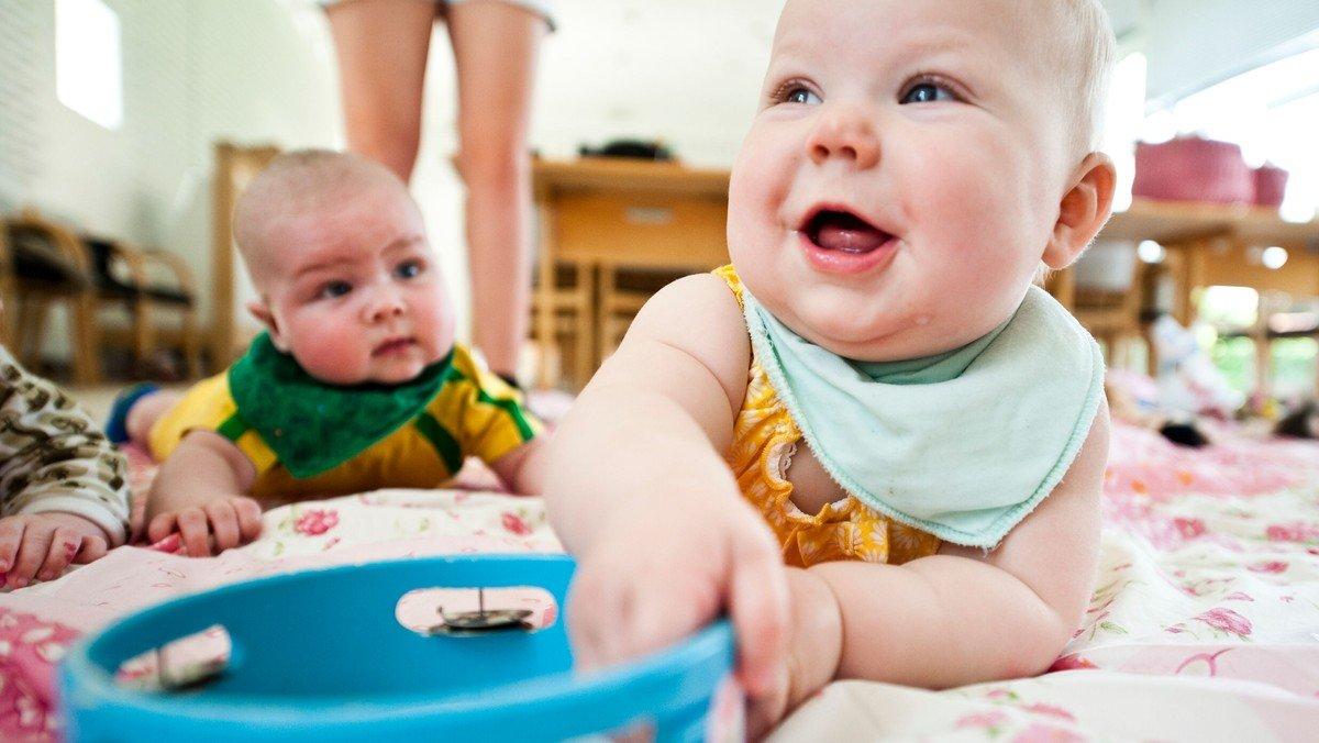 Babysalmesang, Ekstra hold.
