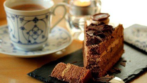 Gensynskaffe og kage