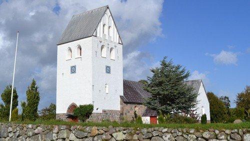 Gudstjeneste m/ dåb, Hvidbjerg Kirke