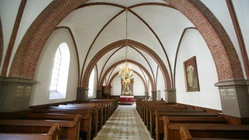 Indvielse af kirkeskib