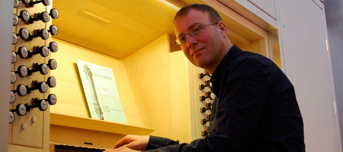 Orgelkoncert med Carsten Popp