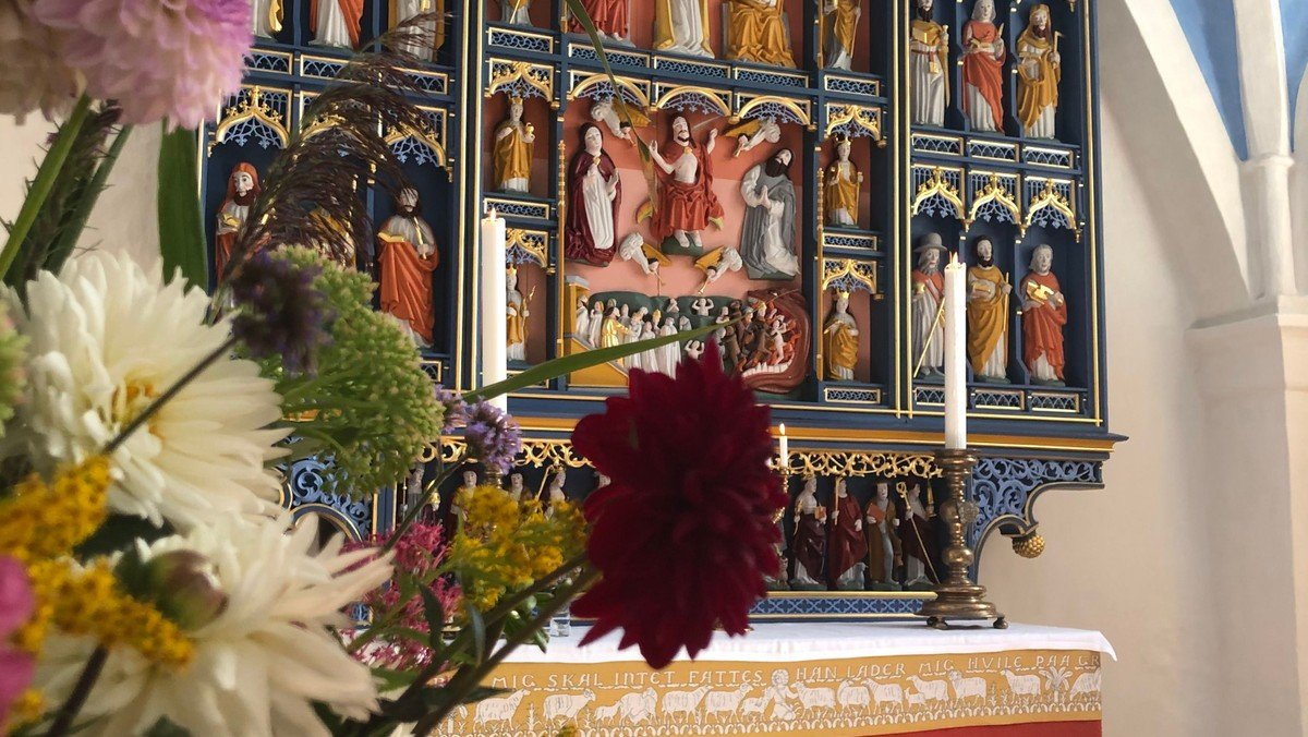 Gudstjeneste i Tjæreby kirke d. 27. juni 2021 kl. 9.00