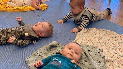 Babysalmesang 1. gang - 6-12 mdr.  (tilmelding)