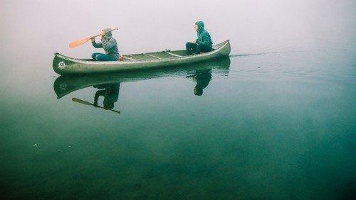 Pilgertron: Konfis pilgern auf dem Wasser