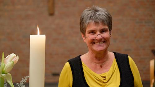 Andacht zum Abschied von Pfarrerin Eva Esche mit Tibia Colonia