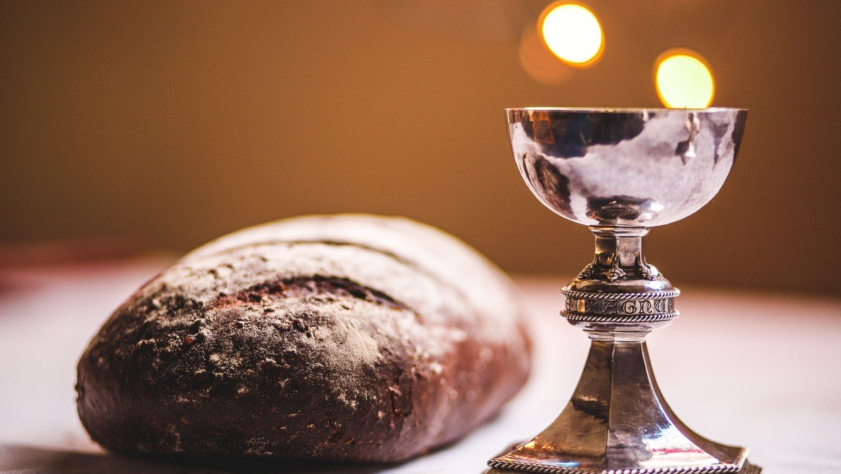 Holy Communion at St Mary's