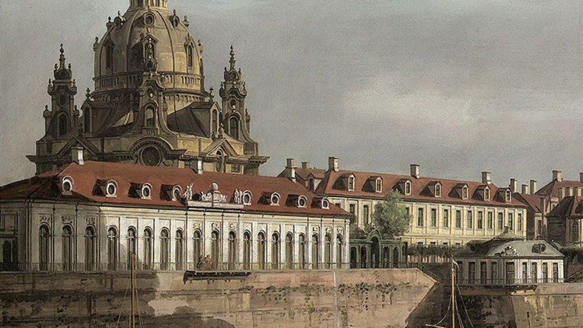 Sensommerbarok - udsigt til Dresden
