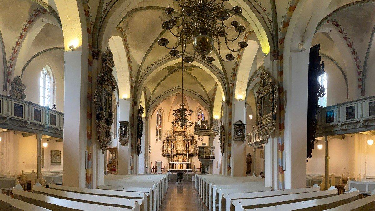 Video-Gottesdienst Aufzeichnung aus der St. Marien-Kirche , Propst Matthias Krüger