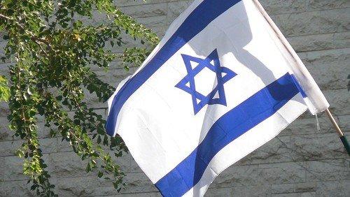 """Kundgebung des """"Solidaritätsbündnis Israel"""" auf dem Pariser Platz"""