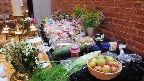 Høstgudstjeneste for hele familien - med frokost og auktion