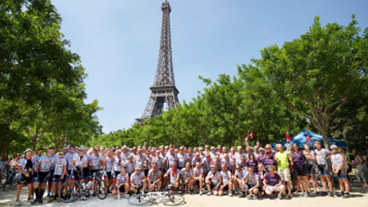 Herreværelset - Peter Aagaard fortæller om Tour De Hjørring - Paris