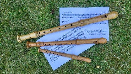 Wochenschlussandacht mit Blockflötenmusik - möglichst draußen