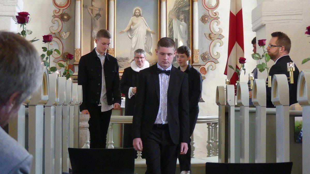Konfirmation, Hvidbjerg Kirke