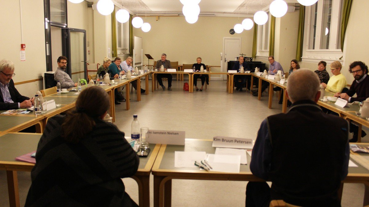 Ekstraordinært menighedsrådsmøde